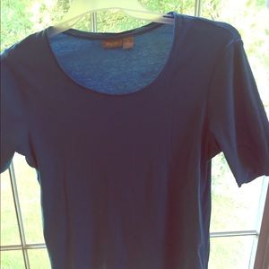 Used Chico women's shirt size 2 color blue